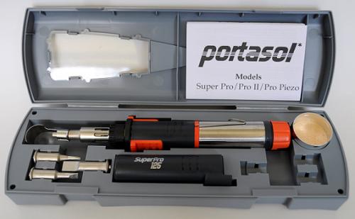 Super Pro Gas Soldering Iron Kit